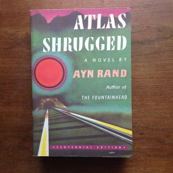 "Vintage Other - Ayn Rand ""Atlas Shrugged"""